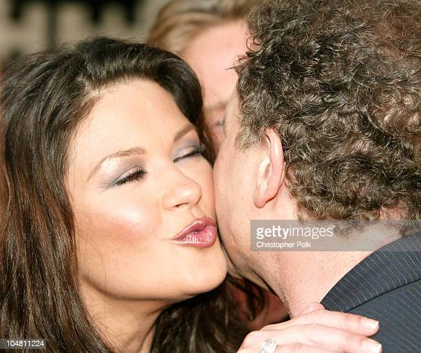 Catherine ZetaJones and Albert Brooks during Premiere of The InLaws at Cinerama Dome in Hollywood California United States