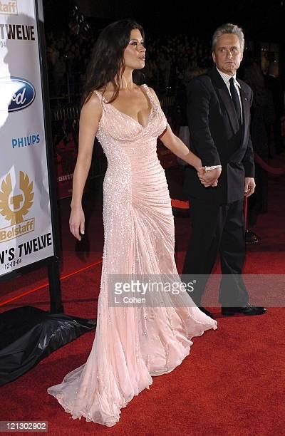 Catherine ZetaJones and Michael Douglas