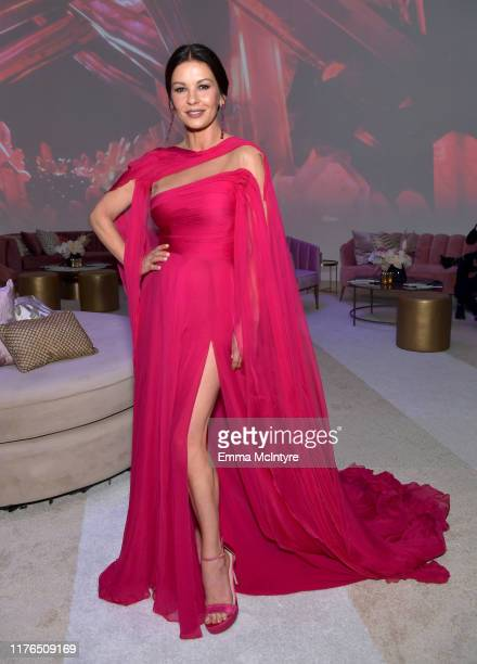 Catherine ZetaJones attends the 2019 Netflix Primetime Emmy Awards After Party at Milk Studios on September 22 2019 in Los Angeles California