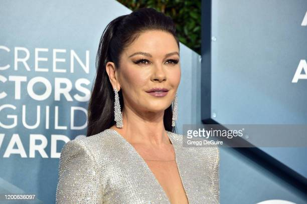 Catherine ZetaJones attends the 26th Annual Screen ActorsGuild Awards at The Shrine Auditorium on January 19 2020 in Los Angeles California 721430