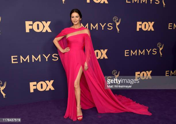 Catherine ZetaJones attends the 71st Emmy Awards at Microsoft Theater on September 22 2019 in Los Angeles California