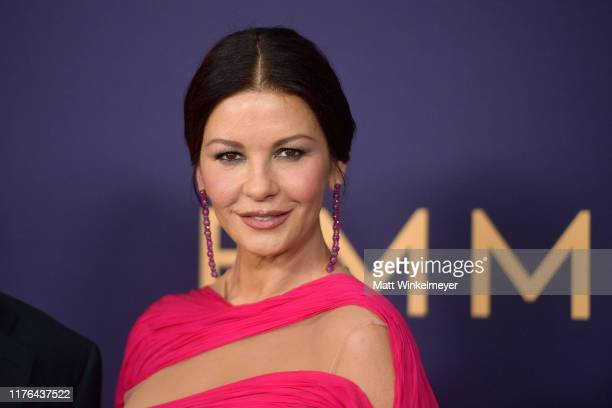 Catherine Zeta-Jones attends the 71st Emmy Awards at Microsoft Theater on September 22, 2019 in Los Angeles, California.
