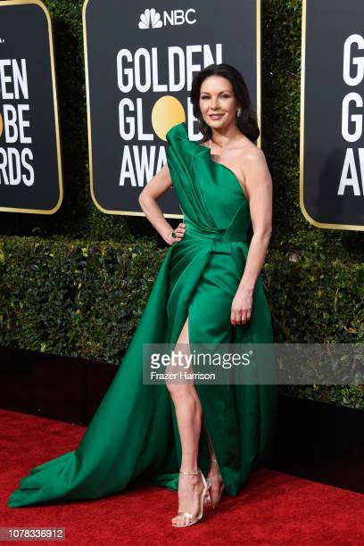96e75ff7 Catherine ZetaJones attends the 76th Annual Golden Globe Awards at The  Beverly Hilton Hotel on January