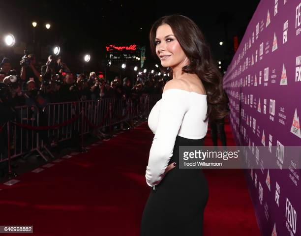 Catherine ZetaJones attends the premiere of FX Network's 'Feud Bette And Joan'at Grauman's Chinese Theatre on March 1 2017 in Hollywood California