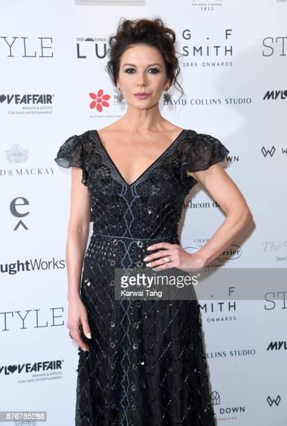 Catherine ZetaJones attends the Walpole British Luxury Awards at The Dorchester on November 20 2017 in London England
