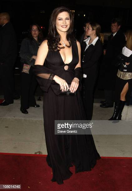 Catherine ZetaJones during 'Chicago' Premiere in Los Angeles at The Academy in Beverly Hills California United States