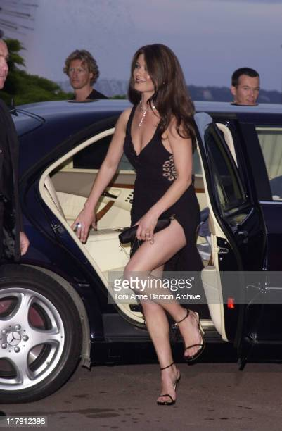 Catherine ZetaJones during Laureus World Sports Awards Dinner and Silent Auction Arrivals at Monte Carlo Sporting Club in Monte Carlo Monaco