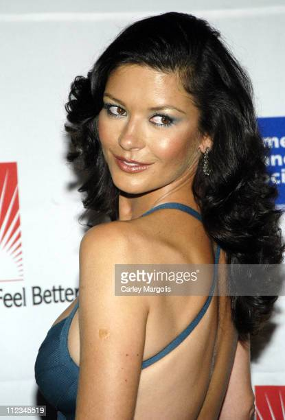 Catherine Zeta-Jones during The American Cancer Society and Cosmetic Industry's 21st Annual DreamBall Benefiting Look Good, Feel Better at Waldorf...