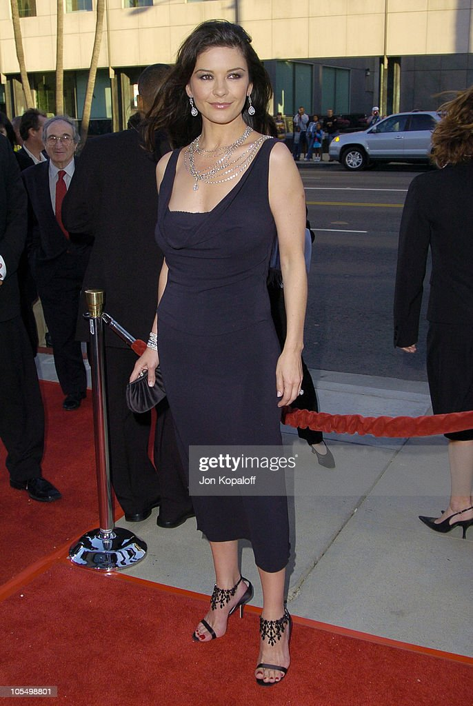 Catherine Zeta-Jones during 'The Terminal' World Premiere - Red Carpet at Academy of Motion Picture Arts and Science in Beverly Hills, California, United States.