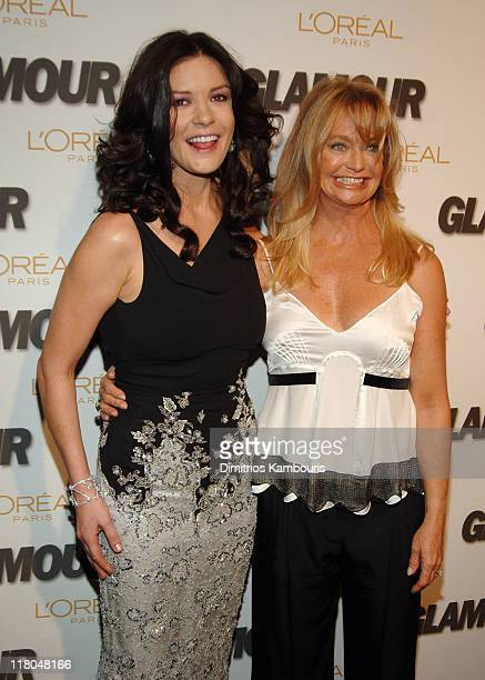 Catherine ZetaJones honoree and Goldie Hawn honoree