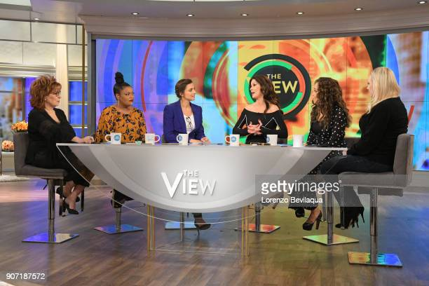 THE VIEW Catherine ZetaJones is the guest today Friday January 19 2018 on ABC's 'the View' 'The View' airs MondayFriday on the ABC Television Network...