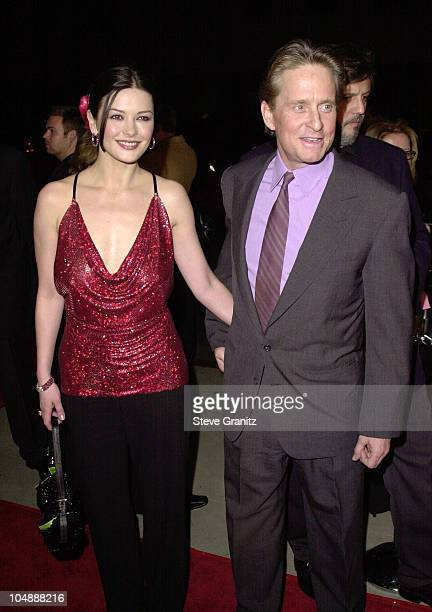 Catherine ZetaJones Michael Douglas during 'Traffic' Los Angeles Premiere at The Academy in Beverly Hills California United States