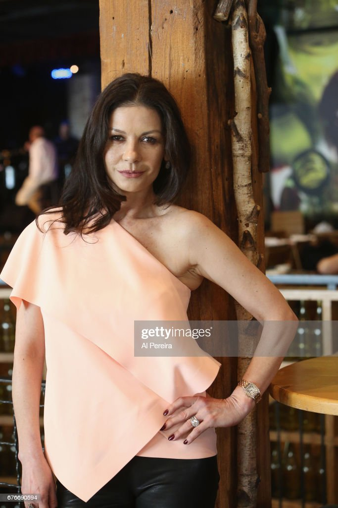 Catherine Zeta-Jones poses during rehearsals at City Winery Presents a Celebration of the Music of Jimmy Webb at City Winery on May 2, 2017 in New York City.