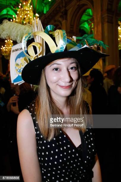Catherinette attends Maisons de Couture of Paris Celebrate SainteCatherine at Mairie de Paris on November 24 2017 in Paris France