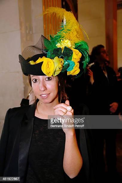 Catherinette attends Sainte-Catherine Celebration at Mairie de Paris on November 25, 2013 in Paris, France.
