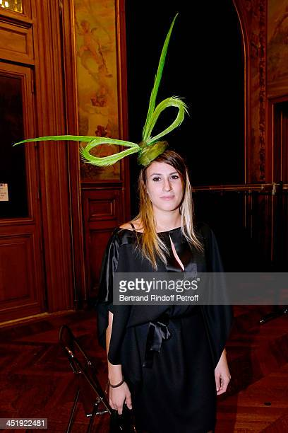 Catherinette from Alexis Mabille attends Sainte-Catherine Celebration at Mairie de Paris on November 25, 2013 in Paris, France.