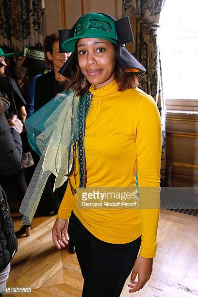 Catherinette from Kenzo attends Sainte-Catherine Celebration at Mairie de Paris on November 25, 2013 in Paris, France.