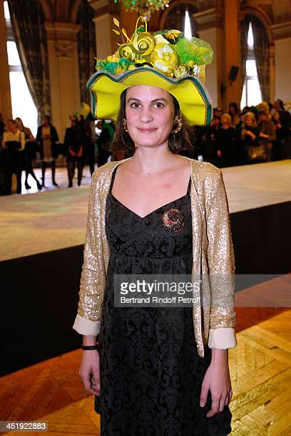 Catherinette from Lemarie attends Sainte-Catherine Celebration at Mairie de Paris on November 25, 2013 in Paris, France.