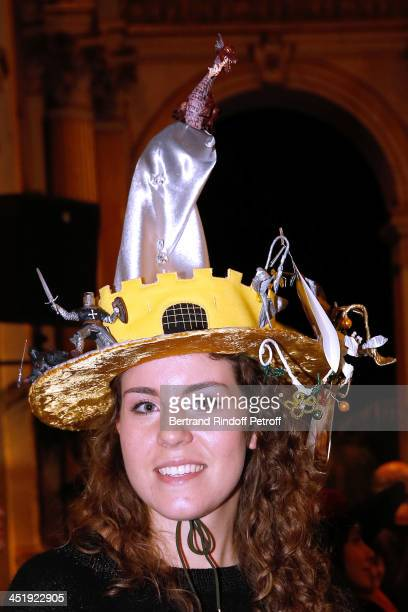 Catherinette from Stephane Rolland attends Sainte-Catherine Celebration at Mairie de Paris on November 25, 2013 in Paris, France.