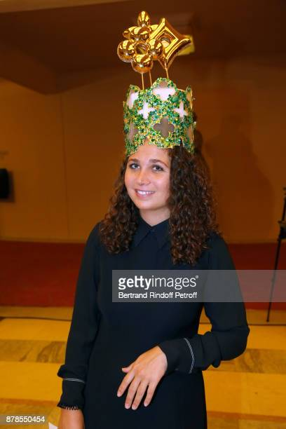 Catherinette of Louis Vuitton attends the 'Comite Montaigne' Celebrates SainteCatherine with Maisons de Couture of Avenue Montaigne On this occasion...