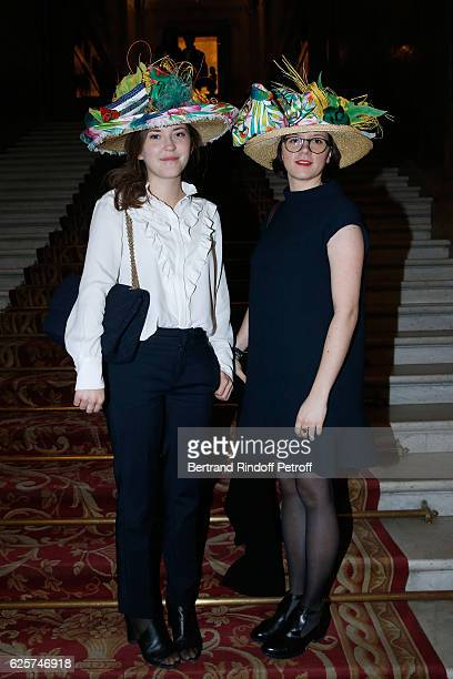 Catherinettes from Chanel attend the SainteCatherine Celebration at Mairie de Paris on November 25 2016 in Paris France At Sainte Catherine France...