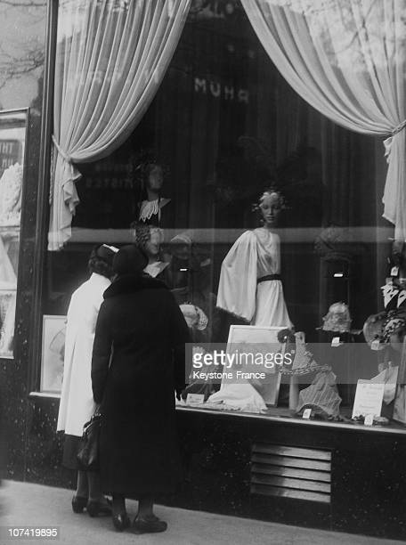 Catherinettes Hat In A Shop Window On November 17Th 1936