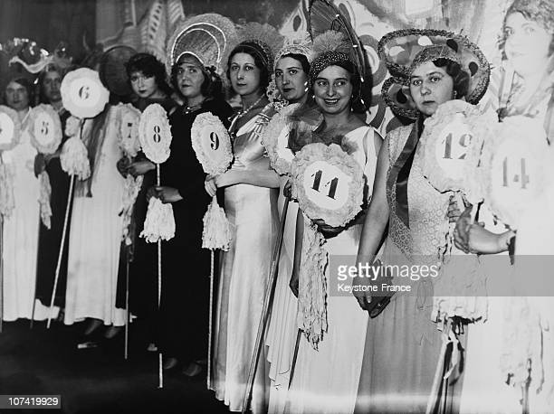 Catherinettes Queen In Paris On November 26Th 1933