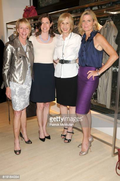 Cathie Black Anne Black Valerie Salembier and Andree Corroon attend DIOR HARPER'S BAZAAR Host Cocktails to Preview FALL 2010 Collection at Dior on...