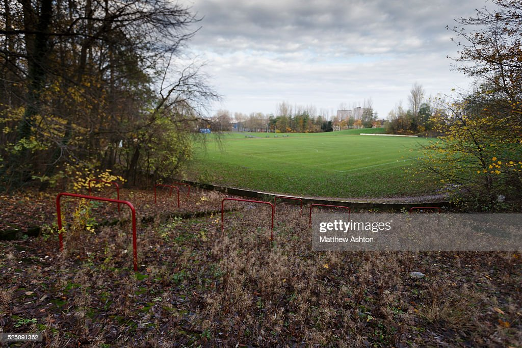 SOCCER : Cathkin Park former home of Third Lanark, Glasgow, Scotland : News Photo