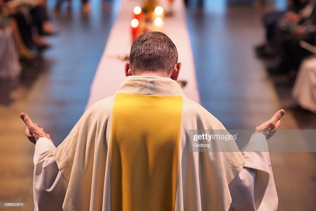 Catholic celebration : ストックフォト