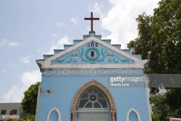 Catholic Chapel Facade