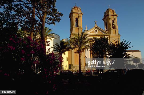 catholic church in ceuta - ceuta fotografías e imágenes de stock