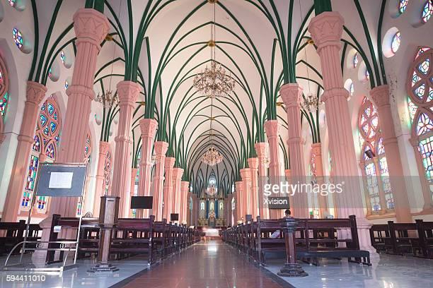 Catholic Church in Fuzhou city, the 3rd biggest Catholic Church in China main land