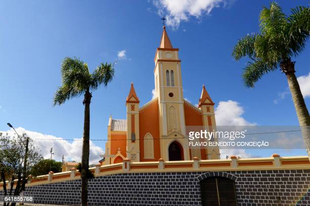 Catholic Church in the city of Porto União in Santa Catarina in Brazil