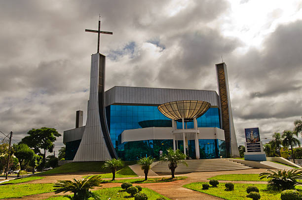 Catholic church of Telemaco Borba