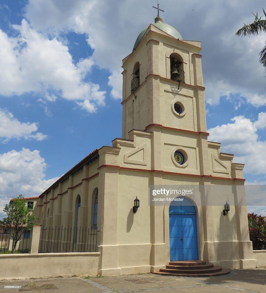 Catholic church (Viñales, Cuba) : Stock Photo
