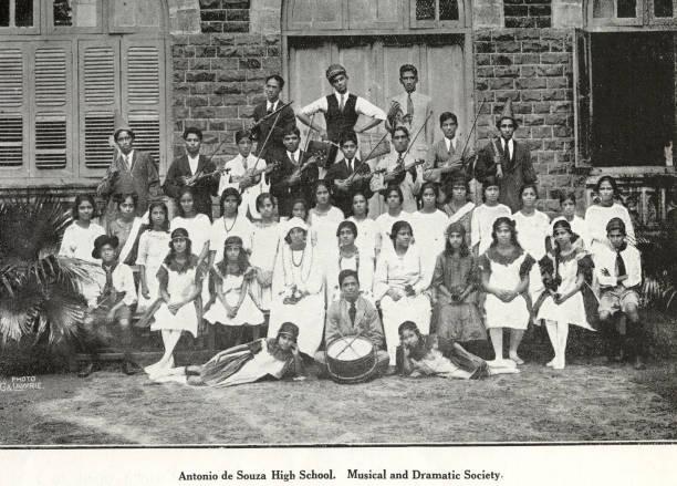Catholic community Antonio de Souza High School, Musical and Dramatic Society, India