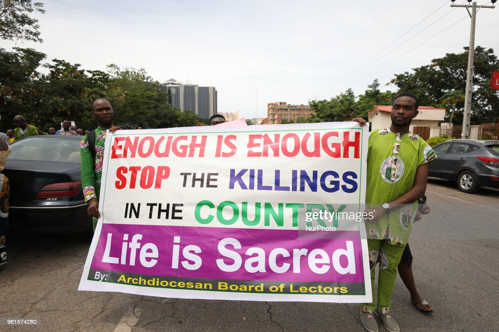 Catholic Protest In Nigeria