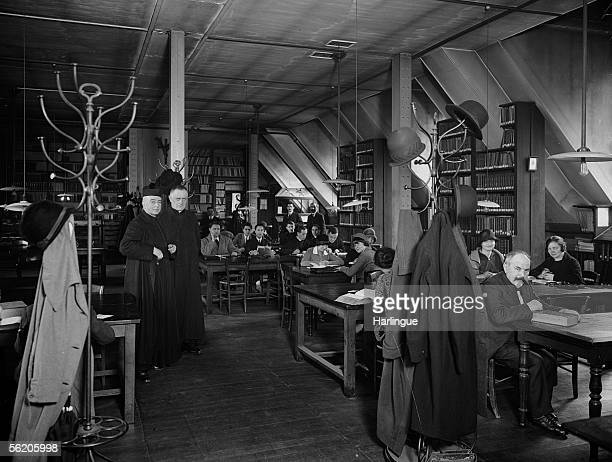 Catholic Institute of Paris The library about 1930