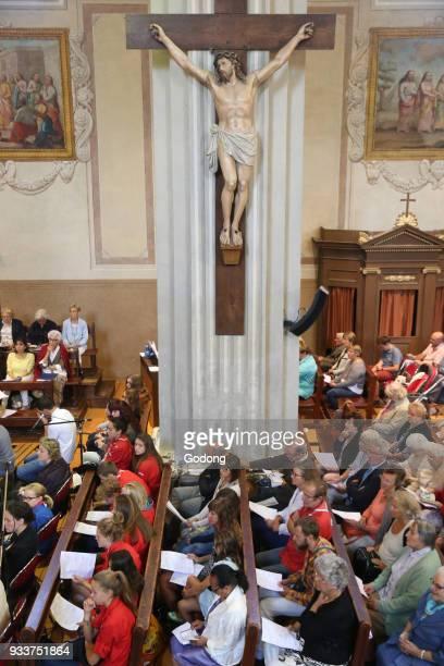 Catholic mass. France.