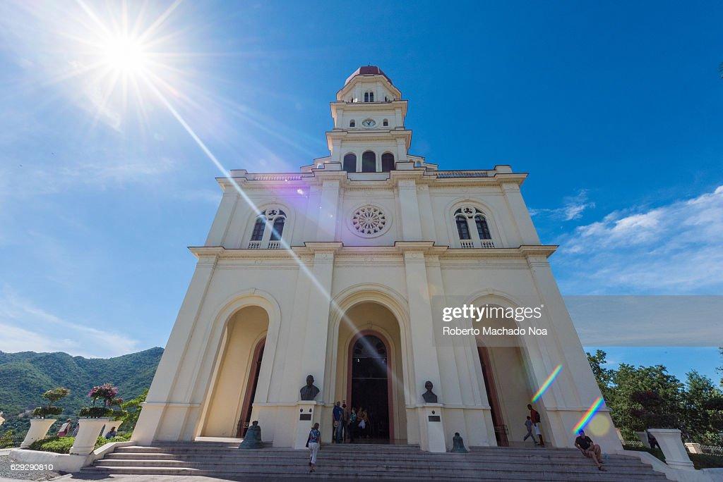 Catholic Minor Basilica of El Cobre dedicated to Our Lady of... : Nachrichtenfoto
