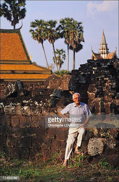 Catholic missionary Father Francois Ponchaud was the first to write about the Khmer Rouge's genocide In Cambodia In March 2003Catholic missionary...