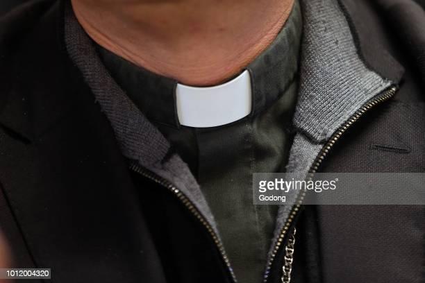 Catholic priest Clerical collar Switzerland