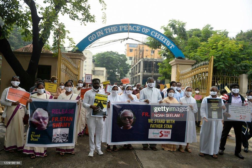 INDIA-POLITICS-RELIGION-PROTEST : Foto di attualità