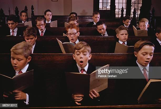 Catholic Schoolboys Singing
