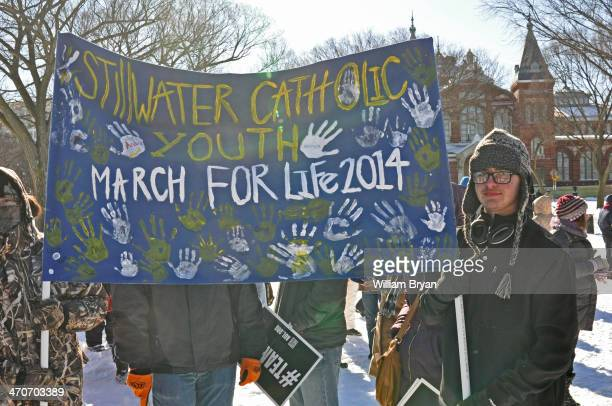 CONTENT] Catholic students from Stillwater OK brave frigid temperatures for the annual rally and March for Life Jan 22 on the National Mall in...