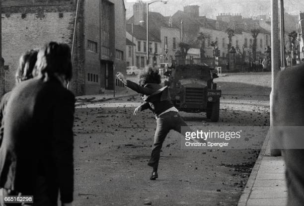 The battle of the Bogside Riots erupted in Bogside the Catholic nationalist neighborhood of Londonderry in August 1969 after the Apprentice Boys...