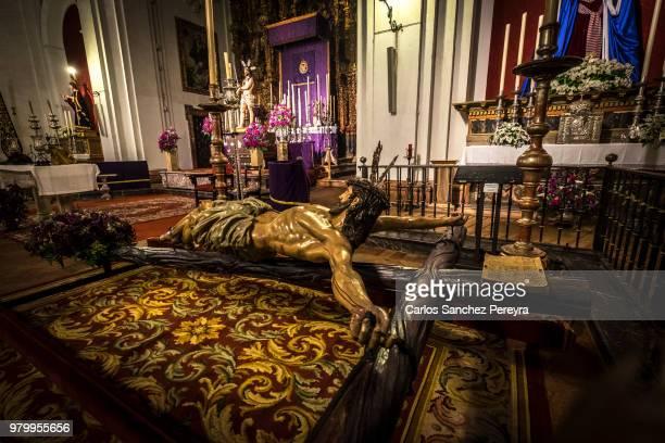 catholicism in spain - carmona fotografías e imágenes de stock