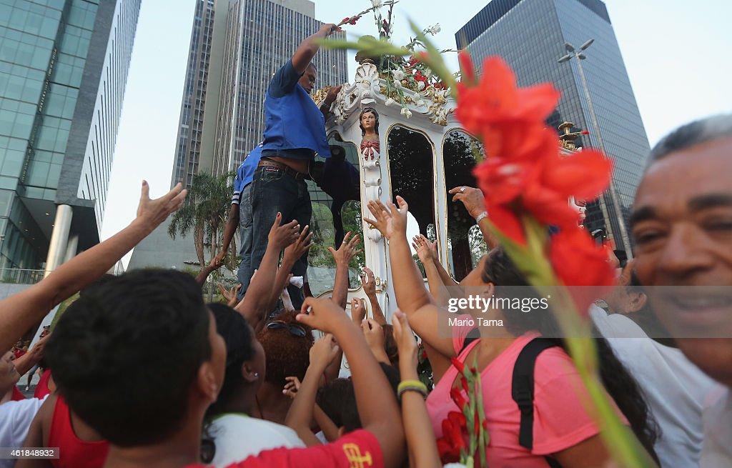 Rio De Janeiro Celebrates Patron Saint Sebastian