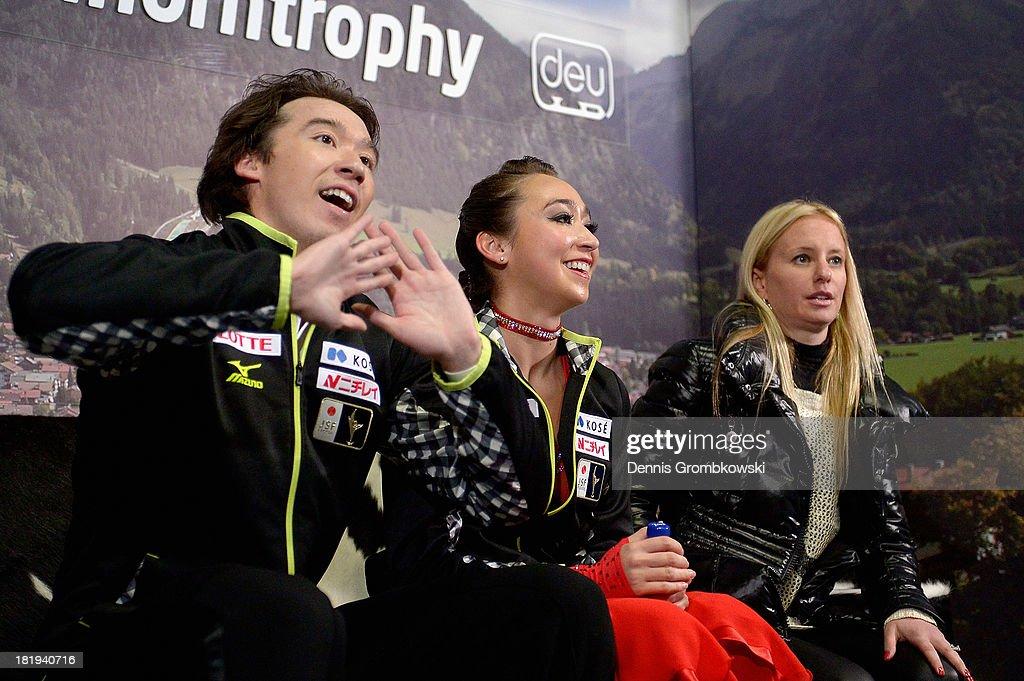 ISU Nebelhorn Trophy - Day 1